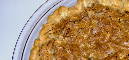 Buttermilk pecan pie