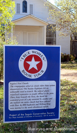 True Women Book Tour Sign