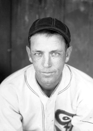 Ted Lyons in his baseball uniform