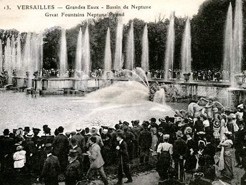 Neptune Pond and Fountain - Versailles