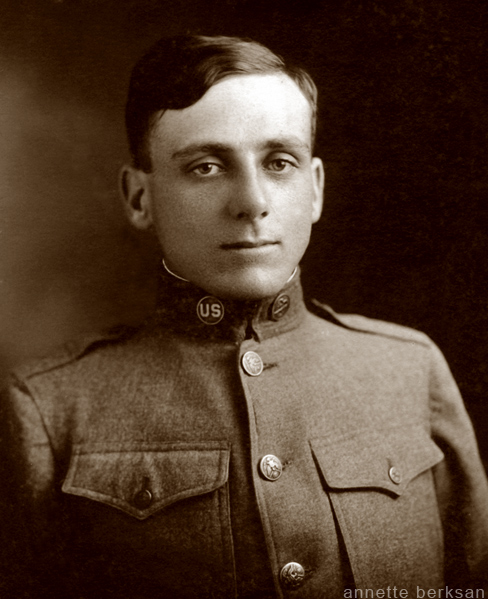 Willie Benoit in uniform.