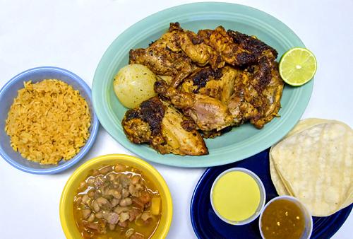 El Pollo Rico – I LOVE this chicken!