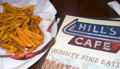 Good Food and Atmosphere at Hill's Cafe in Austin