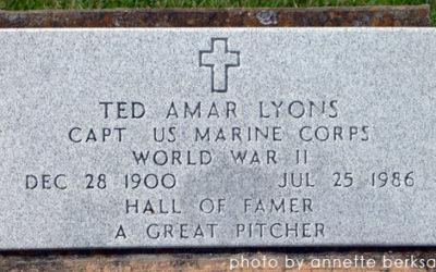 Sunday's Obituary – Baseball Hall of Famer Ted Lyons