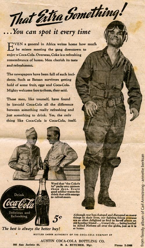 Military Monday – WWII Coca Cola Ad