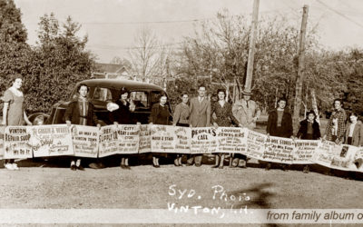 Shopping Saturday – 1930s-1940s Photo from Vinton, Louisiana