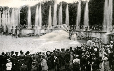 Military Monday – American Soldier Visits Versailles during WWI