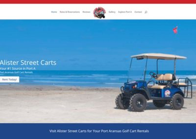 Alister Street Golf Carts – Port Aransas