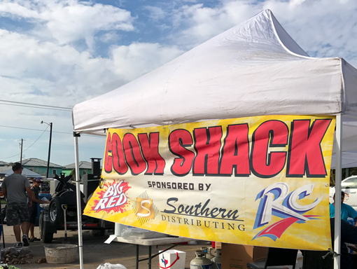 Cook Shack sponsored by Southern Distributing